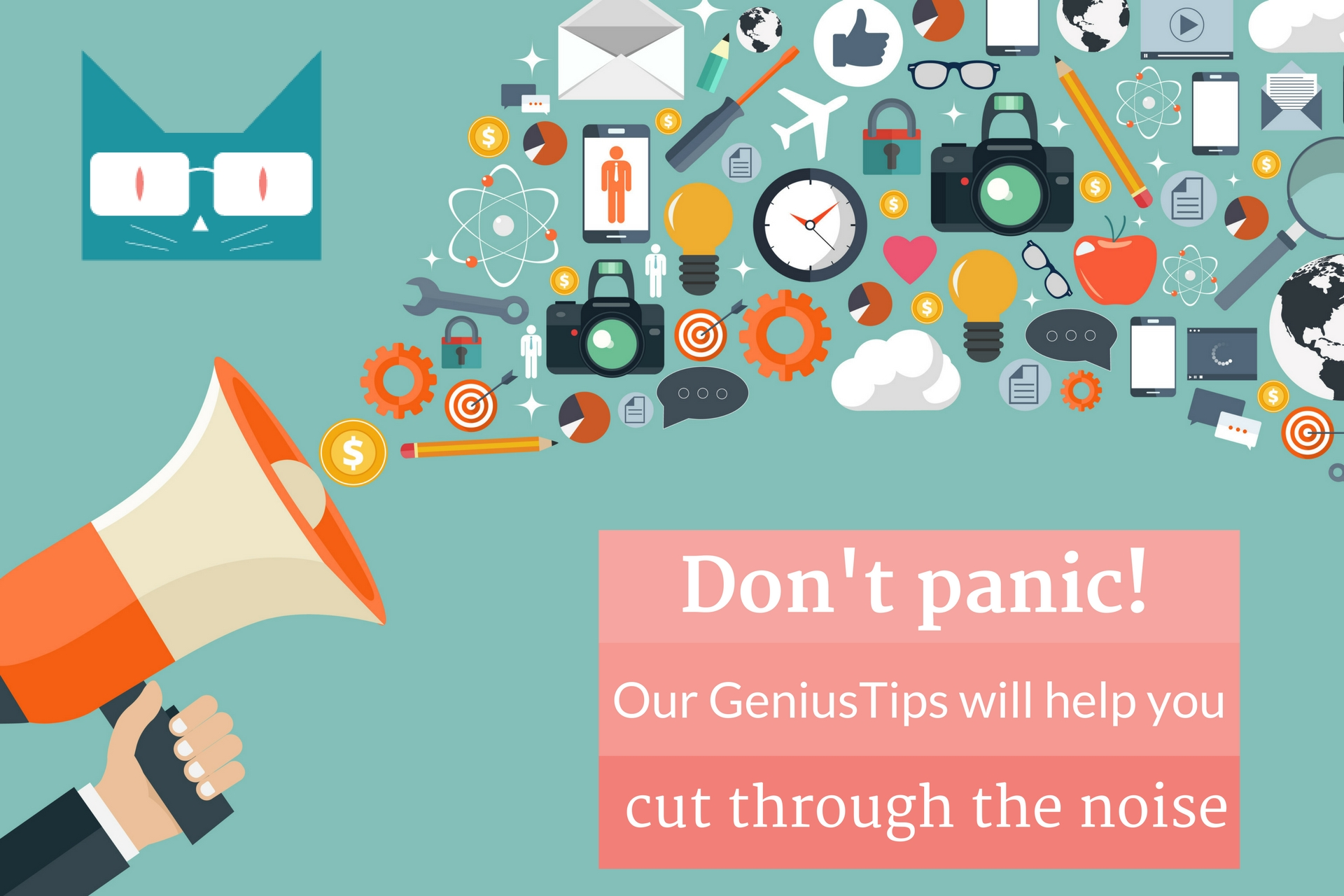 Don't Panic - Your GeniusVets Team is here to help!